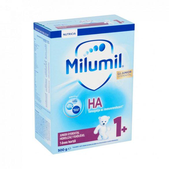 CSOMAGOLÁSSÉRÜLT - Milumil HA Junior gyerekital hidrolizált fehérjével 12 hó+ (500 g)