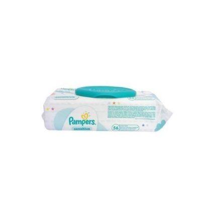 Pampers Sensitive kupakos törlőkendő, 56 lapos