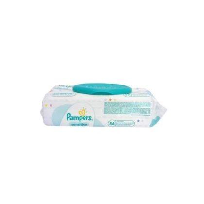 Pampers Sensitive kupakos törlőkendő 56 db