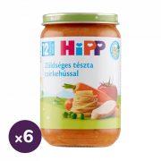 Hipp BIO zöldséges tészta csirkehússal, 12 hó+ (6x220 g)