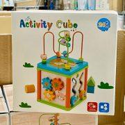 Készségfejlesztő activity kocka gyerekeknek