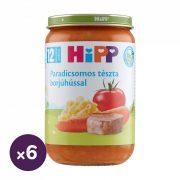 Hipp BIO paradicsomos tészta borjúhússal, 12 hó+ (6x220 g)