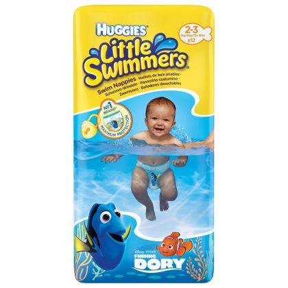 Huggies Swimmers úszópelenka (3-8 kg) + Ajándék homokozószett