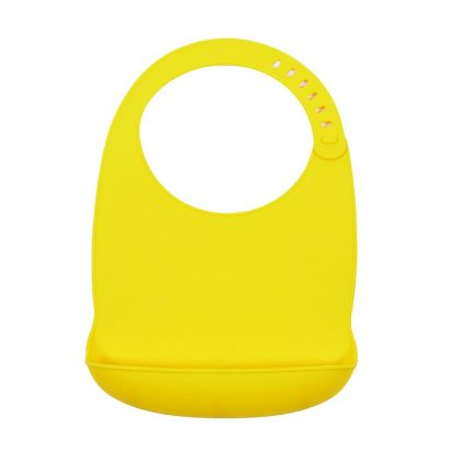 Monza Sam Petite&Mars szilikon sárga előke