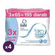 Gabi nedves törlőkendő 12x65 db