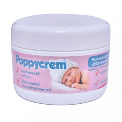 Poppycrem pelenkakiütés elleni védőkrém cinkoxiddal (200 g)