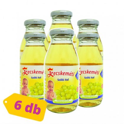 Kecskeméti szőlő gyümölcsital, 4 hó+ (6x200 ml)