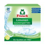 Frosch mosogatógép tabletta zöldcitrommal 26 db