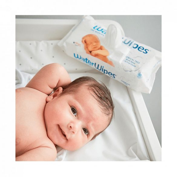 EBBŐL képződik a nagy doboz-WaterWipes természetes baba törlőkendő 4x60 db