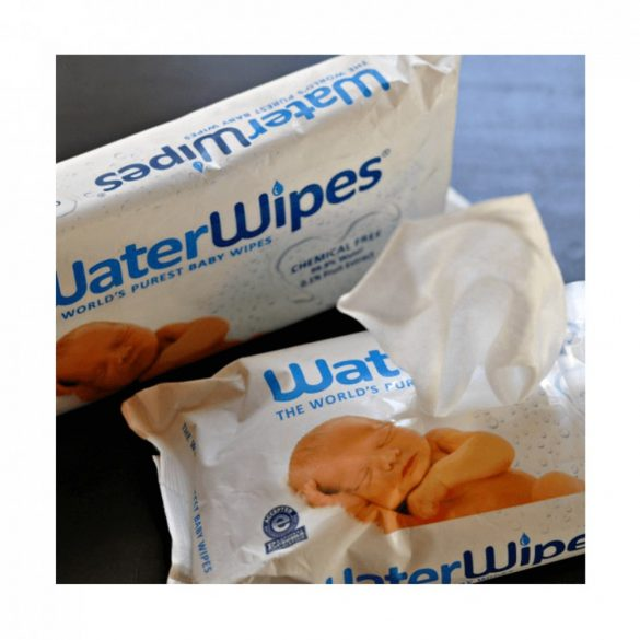 WaterWipes természetes baba törlőkendő 4x60 db