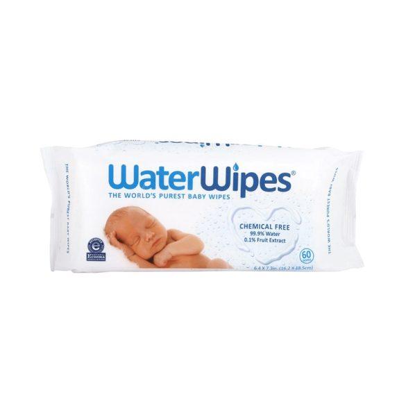 WaterWipes természetes baba törlőkendő 60 lapos +1 db 28 lapos