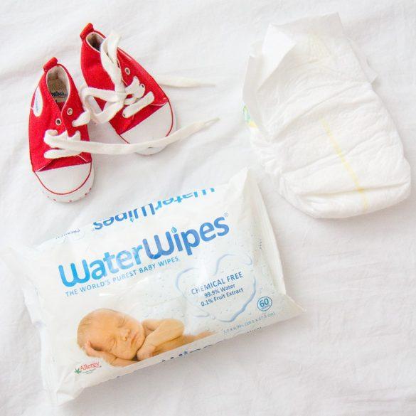 WaterWipes Természetes Baba Törlőkendő 60 lapos