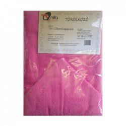 Kapucnis babakifogó, 75x120 cm (pink)