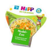 Hipp BIO állatfigurás tészta zöldségekkel tejszínes szószban, 12 hó+ (250 g) - tálcás menü