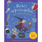 Boszi  seprűnyélen óriás foglakoztatókönyv matricákkal - Julia Donaldson
