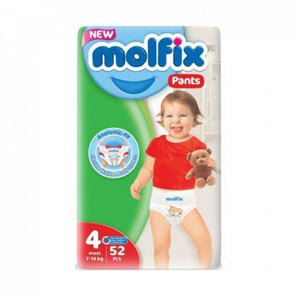Molfix Pants bugyipelenka, Maxi 4, 9-14 kg, 52 db