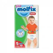 Molfix Pants bugyipelenka, Junior 5, 11-18 kg, 48 db