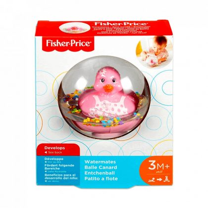 Fisher-Price: Úszó kiskacsa - rózsaszín