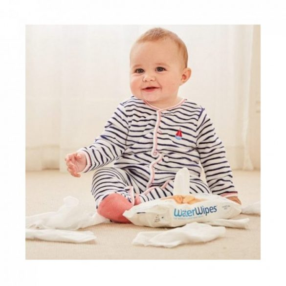 WaterWipes természetes baba törlőkendő 10 db