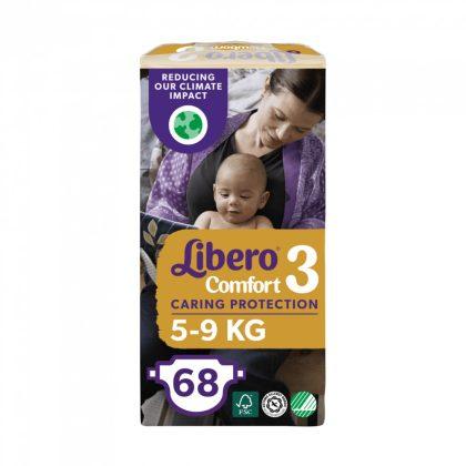 Libero Newborn pelenka Jumbopack, Midi 3, 4-8 kg, 68 db-os