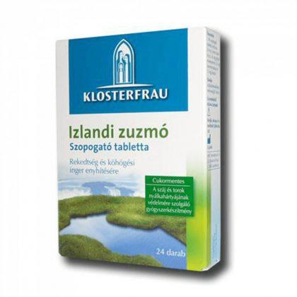 Klosterfrau Izlandi zuzmó szopogató tabletta (24 db)
