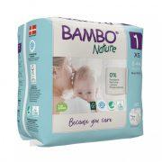 Bambo Nature öko pelenka, Újszülött 1, 2-4 kg, 22 db