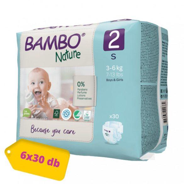 Bambo Nature öko pelenka, Mini 2, 3-6 kg HAVI PELENKACSOMAG 6x30 db