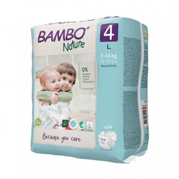 Bambo Nature öko pelenka, Maxi 4, 7-14 kg, 24 db