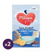 Milupa Szép álmokat! 7 gabonás kekszes tejpép 6 hó+ (2x250 g)
