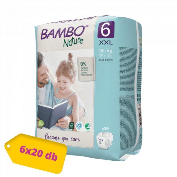 Bambo Nature öko pelenka, Junior 6, 16+ kg HAVI PELENKACSOMAG 6x20 db