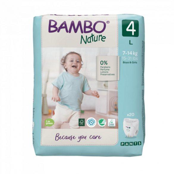 Bambo Nature öko bugyipelenka, Maxi 4, 7-14 kg, 20 db