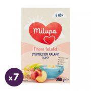 Milupa Finom Falatok, Gyümölcsös kaland tejpép 6 hó+ (7x250 g)