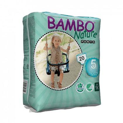MEGSZŰNT - Bambo Nature öko bugyipelenka, Junior 5, 12-20 kg, 20 db