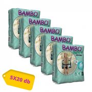 Bambo Nature öko bugyipelenka, Junior 5, 12-20 kg, HAVI PELENKACSOMAG 5x20 db