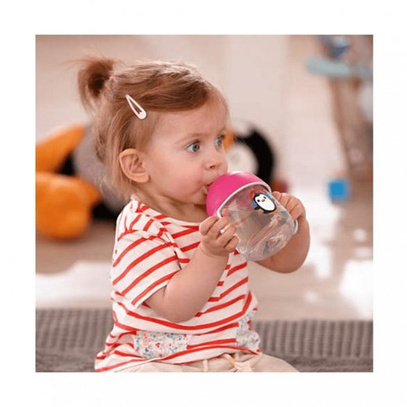 Avent SCF755/00 Itatópohár Premium 340 ml (Rózsaszin, lányos)