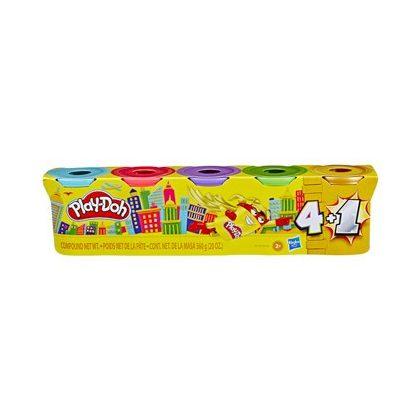 Play-Doh színes gyurmakészlet 5 tégely