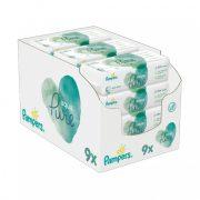 Pampers Aqua Pure nedves törlőkendő 9x48 db