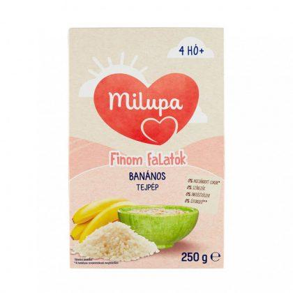 Milupa Finom falatok, Banános tejpép 4 hó+ (250 g)