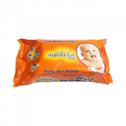 Aquella Kids törlőkendő fehérszappanos 72 db