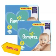 Pampers New Baby pelenka, Mini 2, 4-8 kg, HAVI PELENKACSOMAG 2x94 db