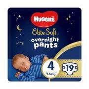 Huggies Elite Soft Overnights Pants éjszakai bugyipelenka 4, 9-14 kg, 19 db