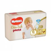 Huggies Elite Soft Pants bugyipelenka 6, 16-22 kg, 32 db