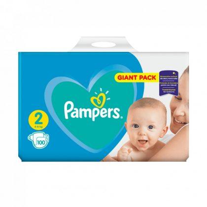 Pampers New Baby pelenka, Mini 2, 4-8 kg, 100 db