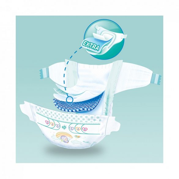 Pampers Active Baby pelenka, Maxi 4, 9-14 kg, 76 db