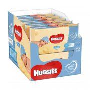 Huggies Pure nedves törlőkendő 10x56 db