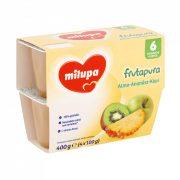 Milupa Frutapura alma-ananász-kiwi 6 hó+ (4x100 g)