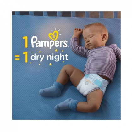 Pampers Active Baby pelenka, Junior 6, 13-18 kg, HAVI PELENKACSOMAG 2x56 db