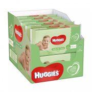 Huggies Natural Care nedves törlőkendő 10x56 db