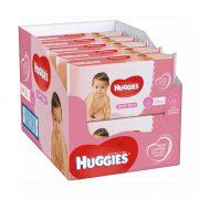 Huggies Soft Skin nedves törlőkendő 10x56 db