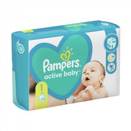 Pampers New Baby pelenka, Újszülött 1, 2-5 kg, 43 db